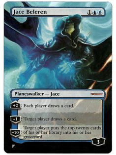 Painted: Jace Beleren Book Promo Extension   iplaythisgame?