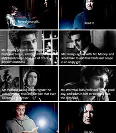 One of many fancasts for the marauders.