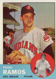 14 - Pedro Ramos - Cleveland Indians