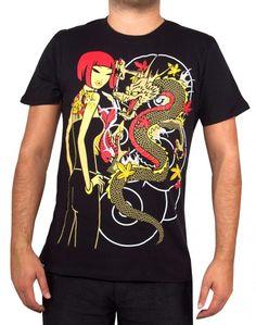 Tokidoki Girl Sail We Must Licensed Adult T-Shirt