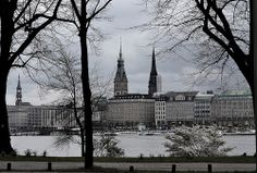 Alster. Hamburg
