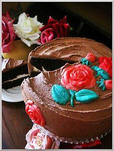 Los pasteles de Rosa. Pastel de chocolate
