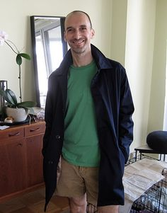 Peter Lappin in Burda jacket