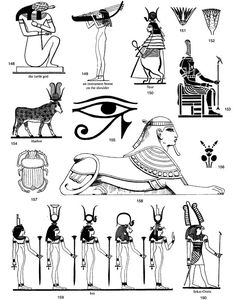 Egyptian Clip Art Printable   Welcome to Dover Publications