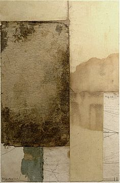 Cecil Touchon, Fusion Series #2350 2007, Collage on Paper, 9x6 inches