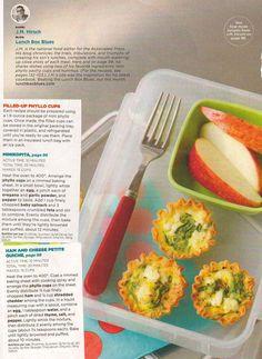 Lunchbox Mini Quiche & Minikopita