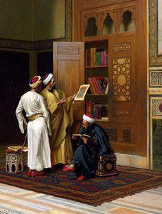 Ludwig Deutsch - The Scholars (Hocalar) , 1901 - TarihNotları.com