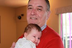 Grand Dad and Brenley, March 2013