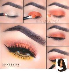 Motives® Khol Eyeliner - Angel - make_up_pintennium Makeup Eye Looks, Eye Makeup Steps, Skin Makeup, Eyeshadow Makeup, Makeup Brushes, Eyeshadow Ideas, Eyeliner Ideas, Eyeshadow Palette, Matte Eye Makeup