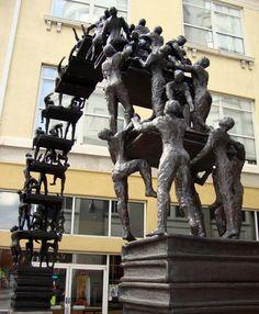 Atlanta book arch statue