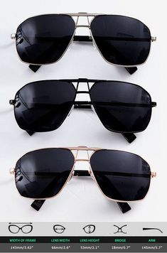 7b01ad8470b Accessories    Square Boeing Police Sunglasses-Sunglasses 15 - Mens Fashion  Clothing For An