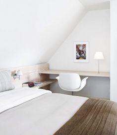 Slaapkamer Schuin Dak Indrukwekkend Slaapkamer Met Schuin Dak Inrichten At Beste Bureaustoelen