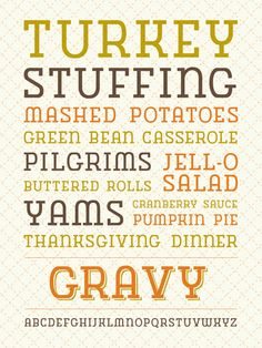 gravy typeface from ketchup n mustard. all I can say is-- yum!
