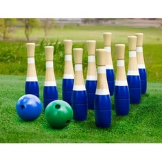 Sterling Sports Lawn Bowling Adult Unisex Set Outdoor Fun Throw Wooden Game New | eBay