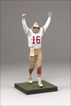 McFarlane Toys Announces Exclusive Joe Montana - The Toyark - News Sports Toys, Sports Art, Nfl Football, American Football, Sports Figures, Action Figures, 49ers Fans, Joe Montana, Nfl History