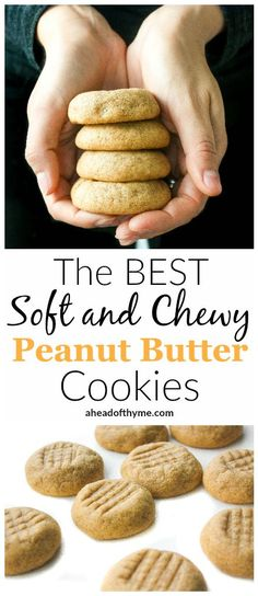 a47af09708 THE BEST SOFT AND CHEWY PEANUT BUTTER COOKIES - DIARY RECIPES Best Peanut  Butter Cookies
