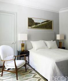 light palette - 20 Ways To Make A Big Statement In A Small Bedroom  - ELLEDecor.com