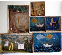 More ideas for Joseph Cornell and outdoor learning