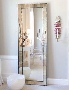Большие напольные зеркала в интерьере   Sweet home