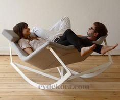 Romantik, Cift Kisilik Sallanan Sandalye evdekora.com #lovely