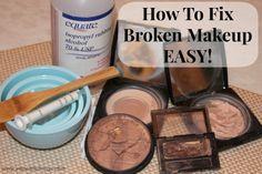 How To Fix Broke Makeup - EASY!