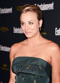 Kaley Cuoco-Sweeting arrives at Entertainment Weekly's Pre-Emmy Party, Saturday, Aug. 23, 2014.
