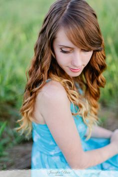 love the ombre hair here!