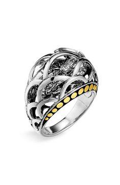 John Hardy 'Naga' Small Dome Ring available at #Nordstrom