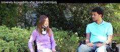 Video looks at College Life After SCI via FacingDisability.com #SCI