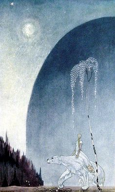 "The girl and the white bear: From ""East of the Sun and West of the Moon"""