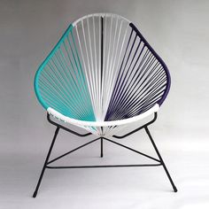 Alluring summer reminiscent Acapulco Chair by Ocho