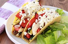 Hungry Grilled Veggie Tacos
