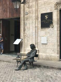 Pomnik Fryderyka Chopina w Hawanie.