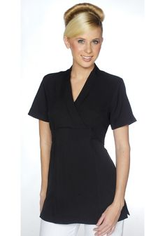 Spa uniform on pinterest spa uniform spas and tunics for Uniform beauty spa