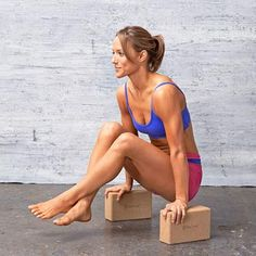 Flat Abs Fast: Tolasana on Blocks #makefithappencontest Details on how you could win a new bike: fitm.ag/1lpmWDJ