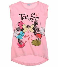 Tricouri fetite Minnie&Mickey Mouse