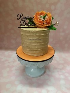 Ranjan-Deepika-WeddingCake by Nikita Nayak - Sinful Slices - http://cakesdecor.com/cakes/298202-ranjan-deepika-weddingcake