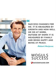Success is different at different stages of life.
