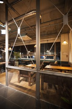 Laboom Coffee - danaham Beam Structure, Pub Interior, Mood And Tone, Retail Shop, Desks, Coffee Shop, Restaurant, Space, Fitness