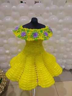 Balloon Dress, W Dresses, Duct Tape, Diy And Crafts, Balloons, Party Ideas, Decorations, Costumes, Fashion