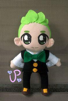 Custom 12 inch Plush Doll by PancakeMakesPlush on Etsy #anime #pokemon #plushie