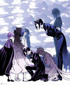Black butler.... the evolution...