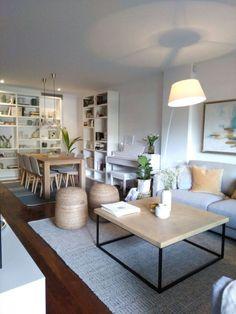Wohnzimmer Essbereich Küche In Einem Beispiel Einrichtung Neue