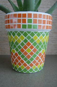 Hey, I found this really awesome Etsy listing at… Mosaic Planters, Mosaic Birdbath, Mosaic Flower Pots, Mosaic Garden, Mosaic Wall, Mosaic Glass, Mosaic Tiles, Stained Glass, Glass Tiles