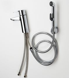 Perfect! Oras Cubista washbasin faucet with Bidetta handshower for personal hygiene. A fresh way to clean f.ex. soiled cloth diapers, too. You can choose the water temperature with the faucet, because the faucet and handshower are integrated. Where there's no room for a bidet, Oras Bidetta is indispensable.