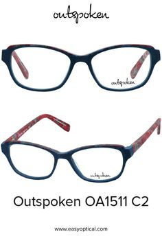 OUTSPOKEN OA1511 C2 Eyewear, Easy, Handmade, Style, Swag, Eyeglasses, Hand Made, Stylus, General Eyewear