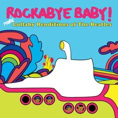 Rockabye Baby More Lullaby Renditions of The Beatles available for international delivery from www.alittlebitofcheek.com.au