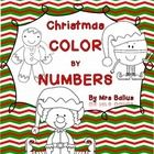 This includes 13 fun Christmas themed color by number pages.Mrs Balius...