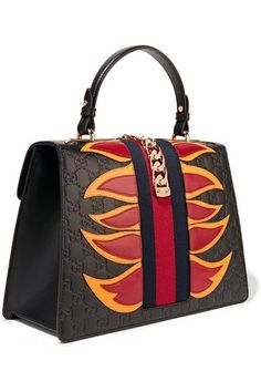1ed042accd Canvas Leather Buckled Zipper Orange Backpack - Buykud