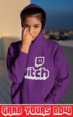 👉 Designed for TwitchAddict's 💜 ▪ Soft Cotton ▪ Printed in the USA ▪ Tracking Numbers Included Twitch Hoodie, Sporty Look, Hoodies, Sweatshirts, Types Of Sleeves, Overlay, Numbers, Unisex, Usa